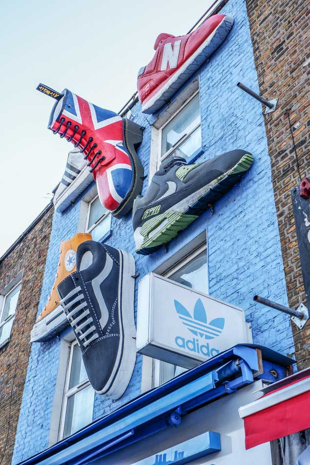 things to do in camden town visit camden town camden lock london shopping shoes
